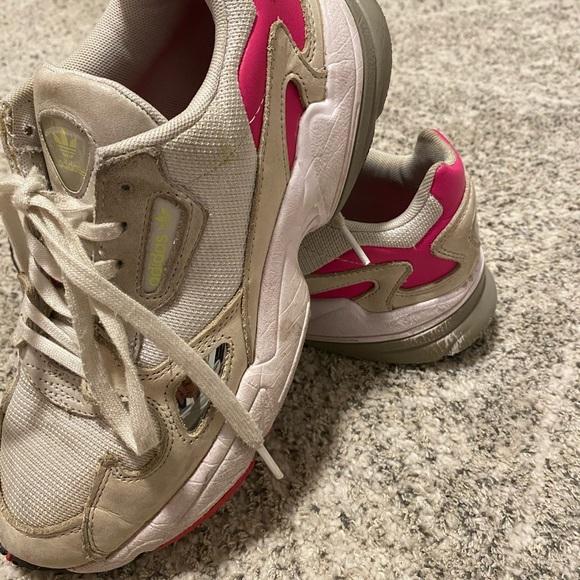adidas Shoes | Adidas Falcon Cream Gray